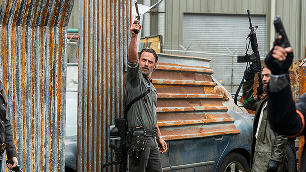 Rick on 'The Walking Dead'