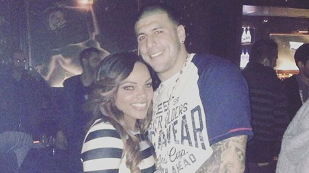 Aaron Hernandez And Shayanna Jenkins