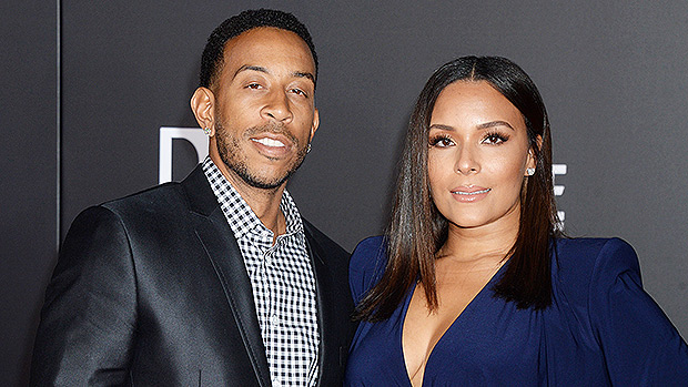 Ludacris with his wife Eudoxie
