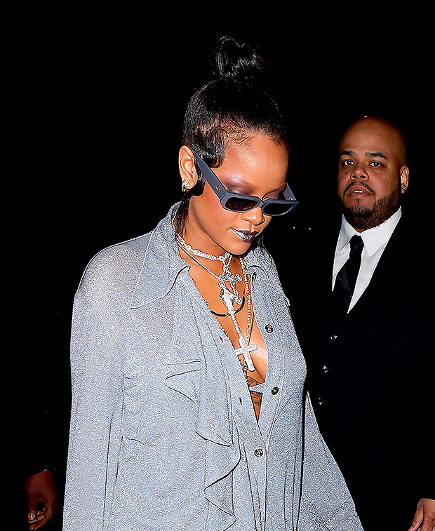 Rihanna After Party Outfit Met Gala 2018