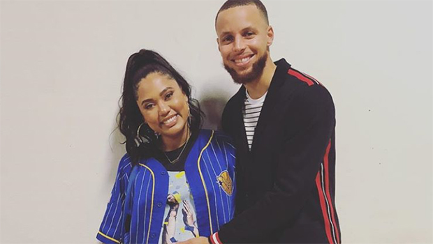 Steph Curry and pregnant Ayesha Curry