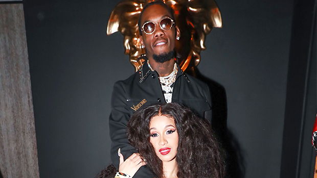 Pregnant Cardi B and Offset