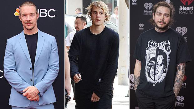 Diplo, Justin Bieber & Post Malone