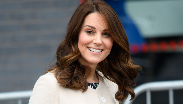 Kate Middleton looking happy