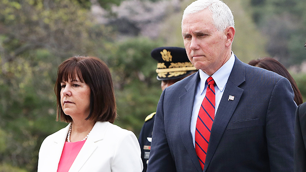 Karen Pence's Dress Is 'Inappropriate' & 'Too Short' Says ...