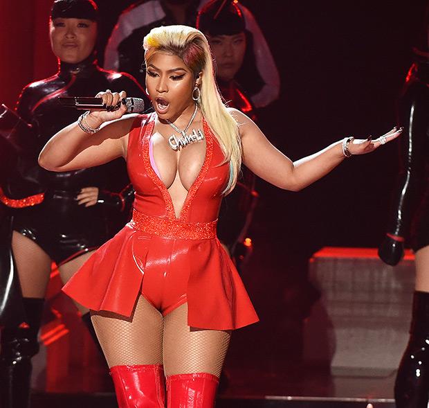 Nicki Minaj BET Awards Wardrobe Malfunction 2018
