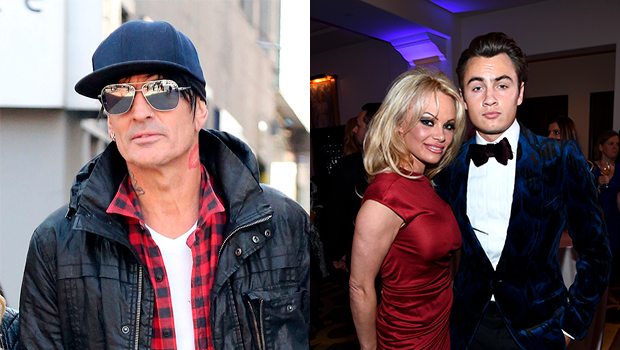 Tommy Lee, Pamela Anderson, Brandon Lee