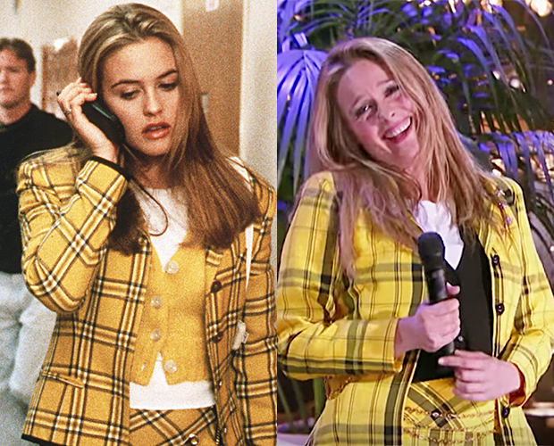 Alicia Silverstone in 'Clueless' & Now