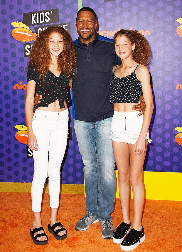 Michael Strahan twin daughters