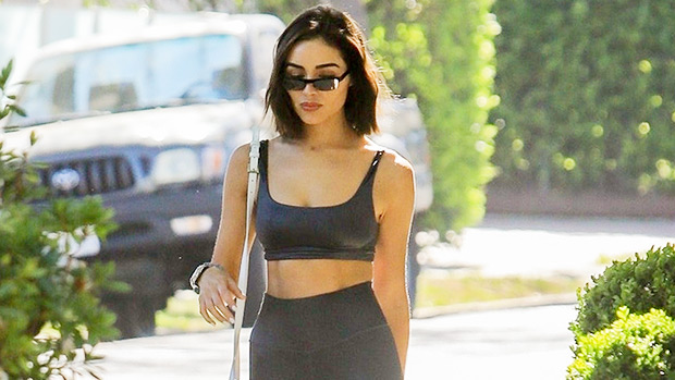 19 Stars Casually Wearing Sports Bras Out On The Town: Olivia Culpo & More