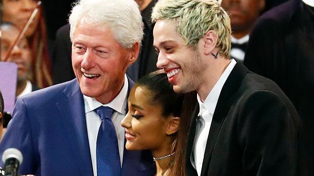 Bill Clinton Ariana Grande Pete Davidson