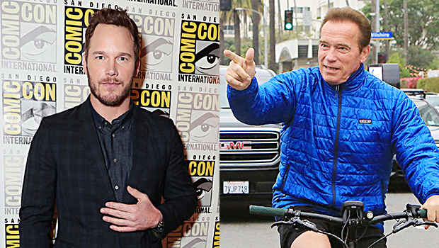 Chris Pratt & Arnold Schwarzenegger