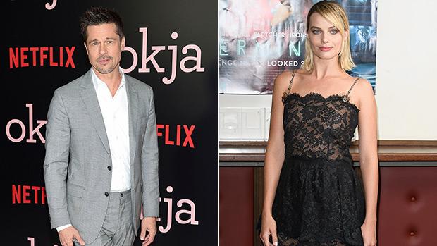 Brad Pitt Margot Robbie romance rumors
