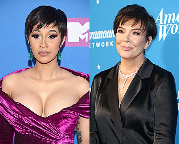 Cardi B Hair Makeover VMAs 2018