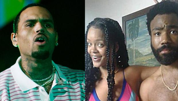 Chris Brown Rihanna Donald Glover