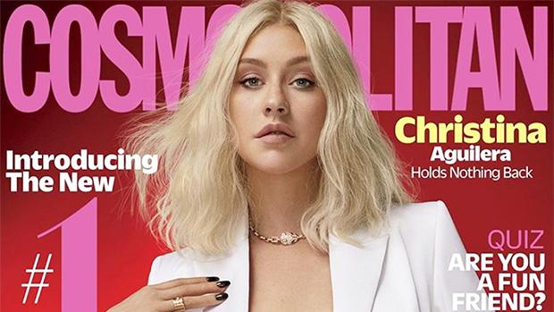 Christina Aguilera cosmopolitan cover