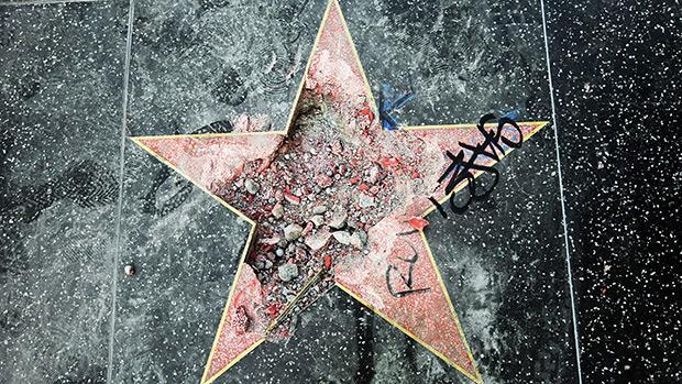 Donald Trump Walk Of Fame Star
