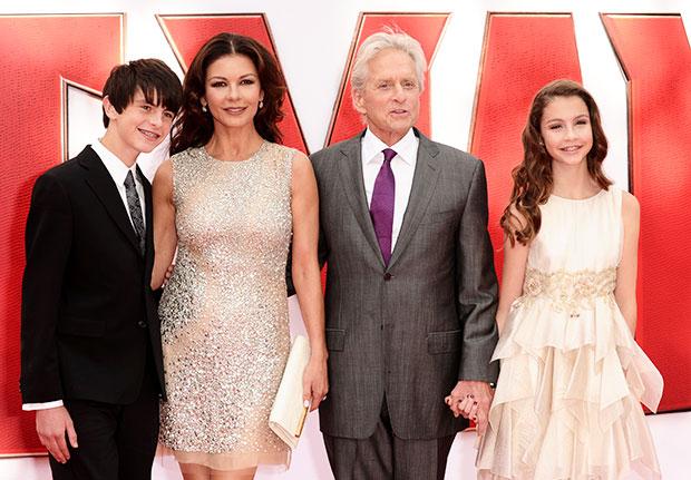 Zet-Jones/Douglas Family