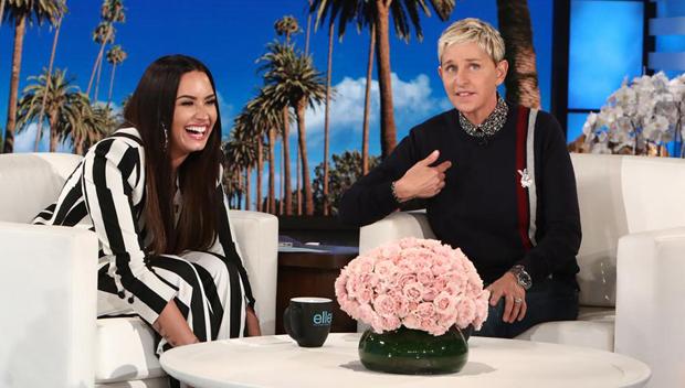Ellen DeGeneres invites Demi Lovato to live with her