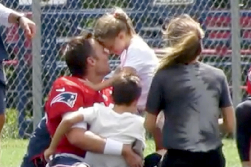 Tom Brady, Gisele Bundchen and Children