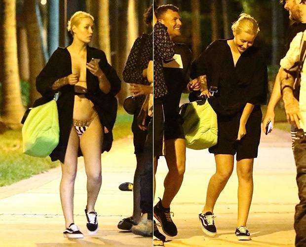 Iggy Azalea Bikini Wardrobe Malfunction