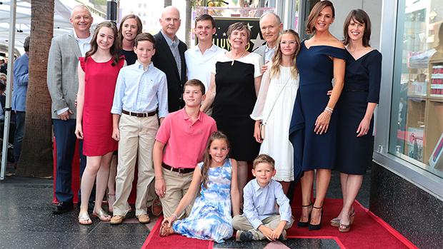 Jennifer garner ben affleck kids grown up walk of fame ceremony