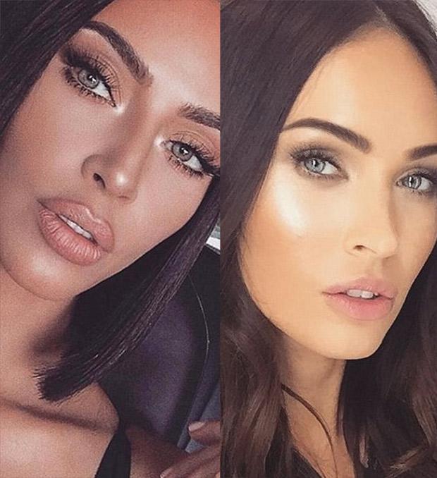 Kim Kardashian & Megan Fox