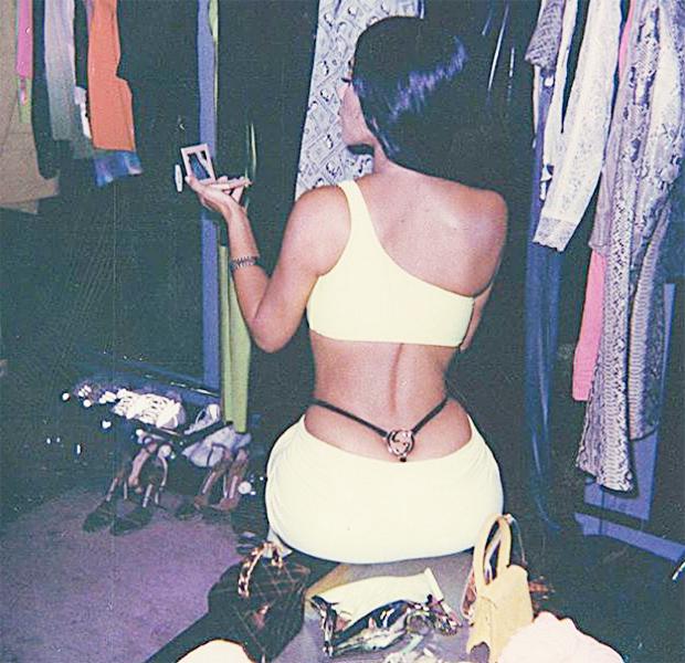 Kim Kardashian Thong Photo