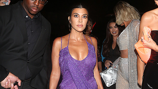 Kourtney Kardashian At Kylie Jenner's Birthday Party