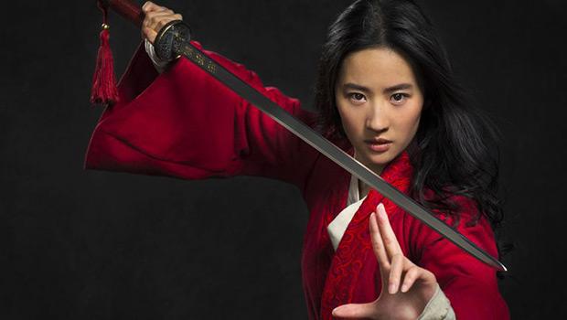 Liu Yifei as Mulan first photo