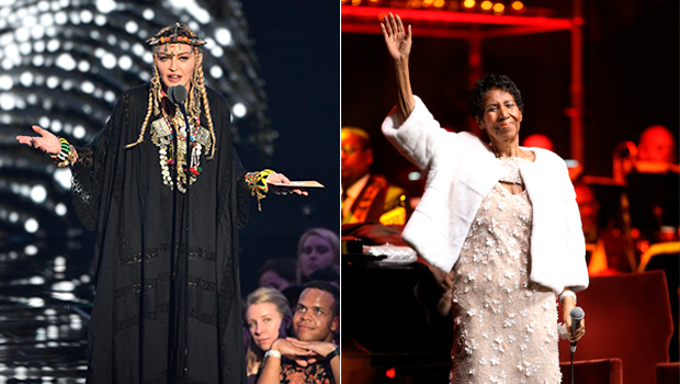 Madonna Aretha Franklin Tribute