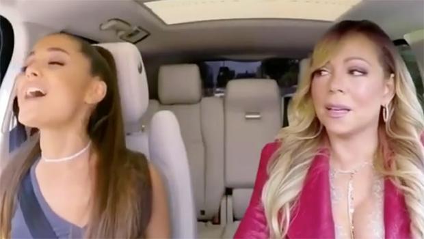 Ariana Grande And Mariah Carey
