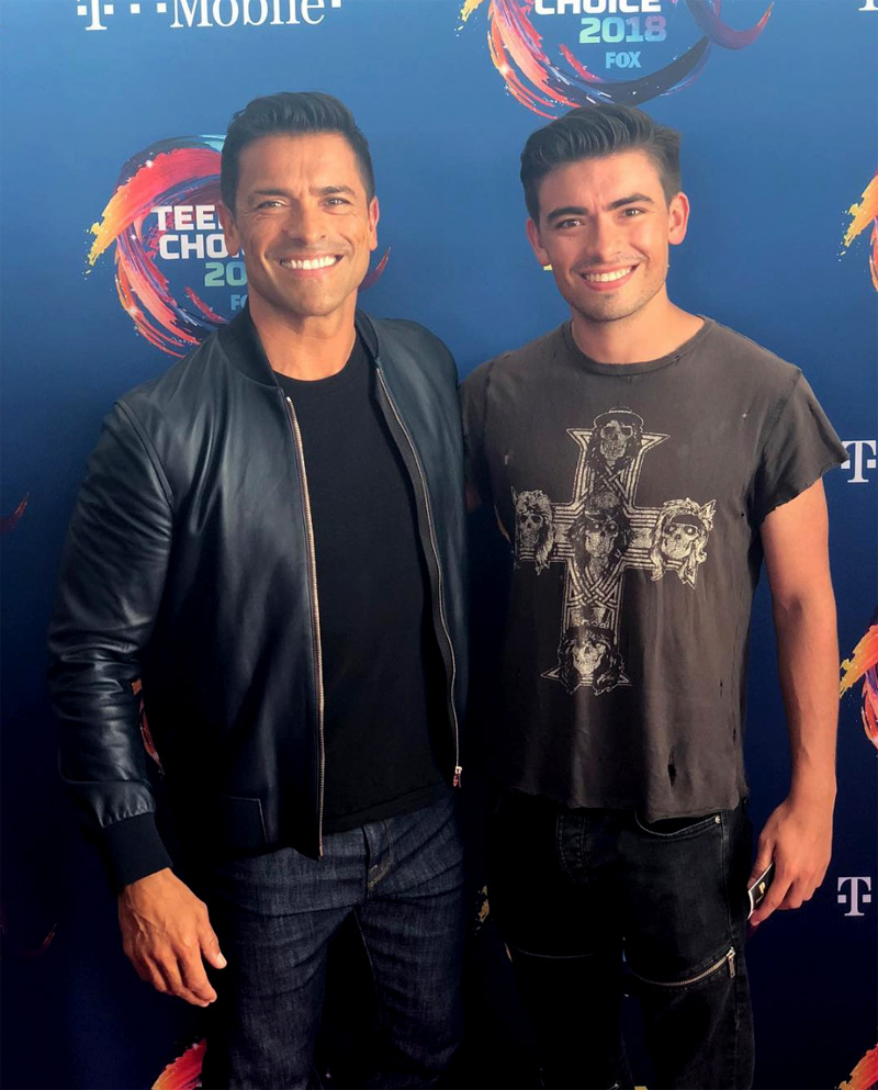 Mark & Michael Consuelos Teen Choice Awards