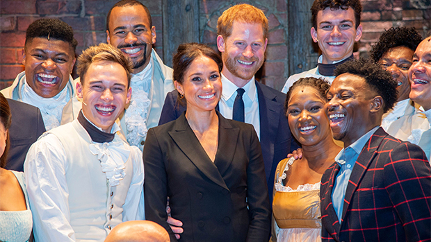 Prince Harry & Meghan Markle At Hamilton