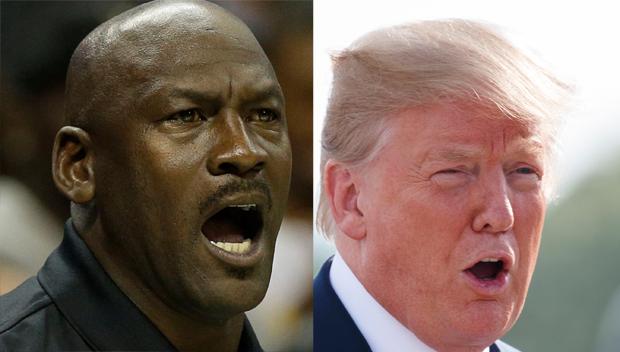 Michael Jordan Donald Trump