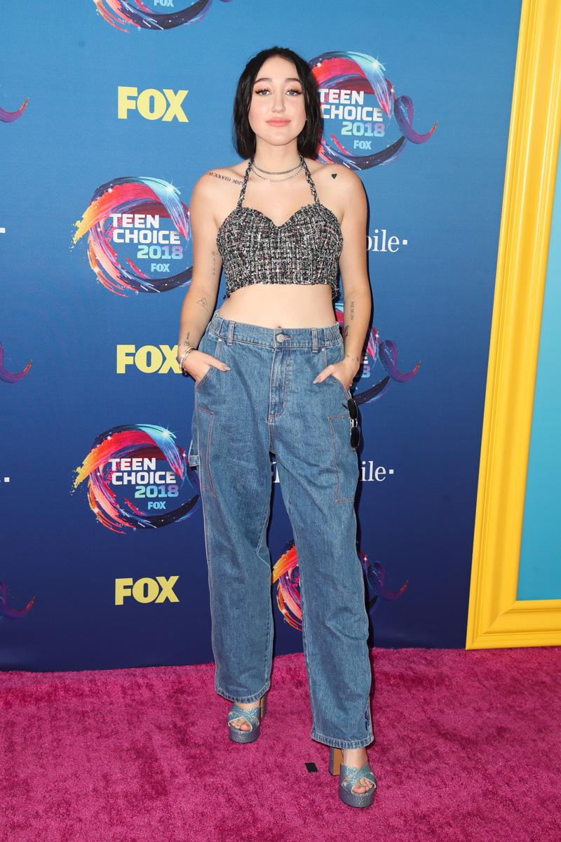 Noah Cyrus Teen Choice Awards, Arrivals, Los Angeles, USA - 12 Aug 2018
