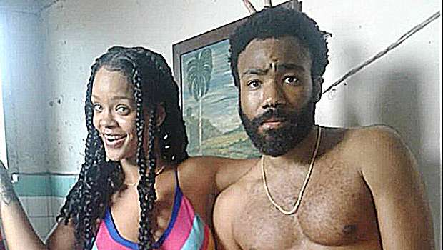 Rihanna & Donald Glover