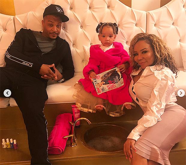 T.I. Tiny Harris Family