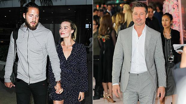 Margot Robbie Husband Jealous Brad Pitt