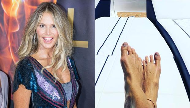 Elle Macpherson's Feet