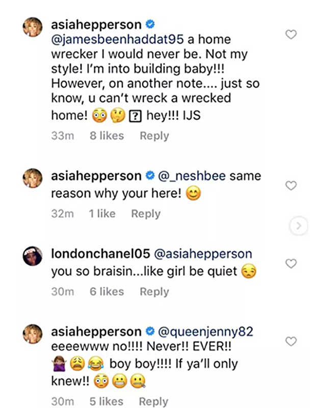 Tiny Reaction Asia'h Epperson Marriage Diss