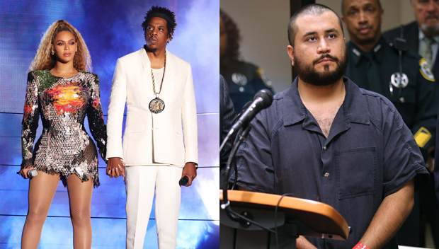Beyonce, Jay-Z, George Zimmerman
