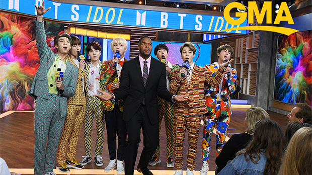 bts outfits good morning america