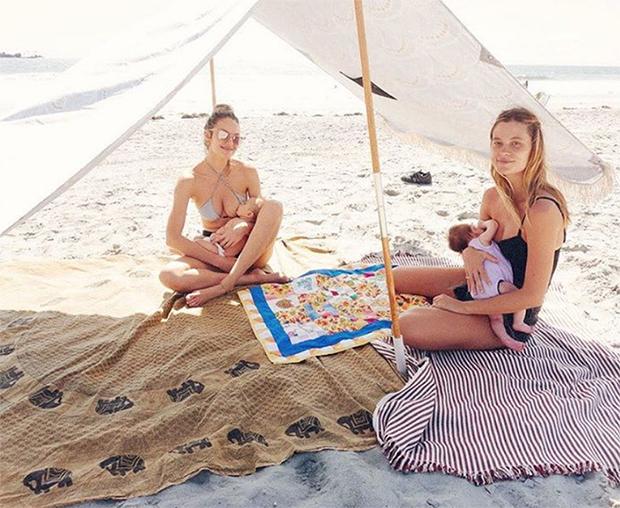 candice swanepoel breastfeeding