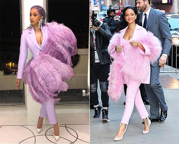 Cardi B & Rihanna
