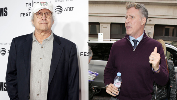 Chevy Chase And Will Ferrell