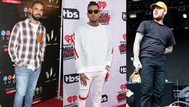 Drake Chris Brown Mac Miller