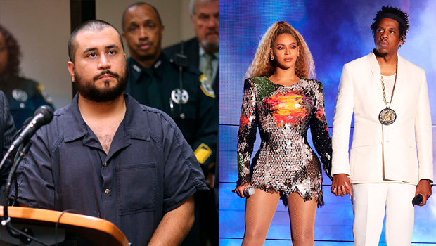 George Zimmerman prison beyonce jay-z threat