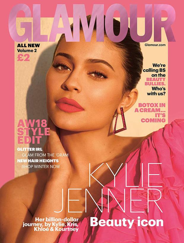 Kylie Jenner Glamour UK Cover