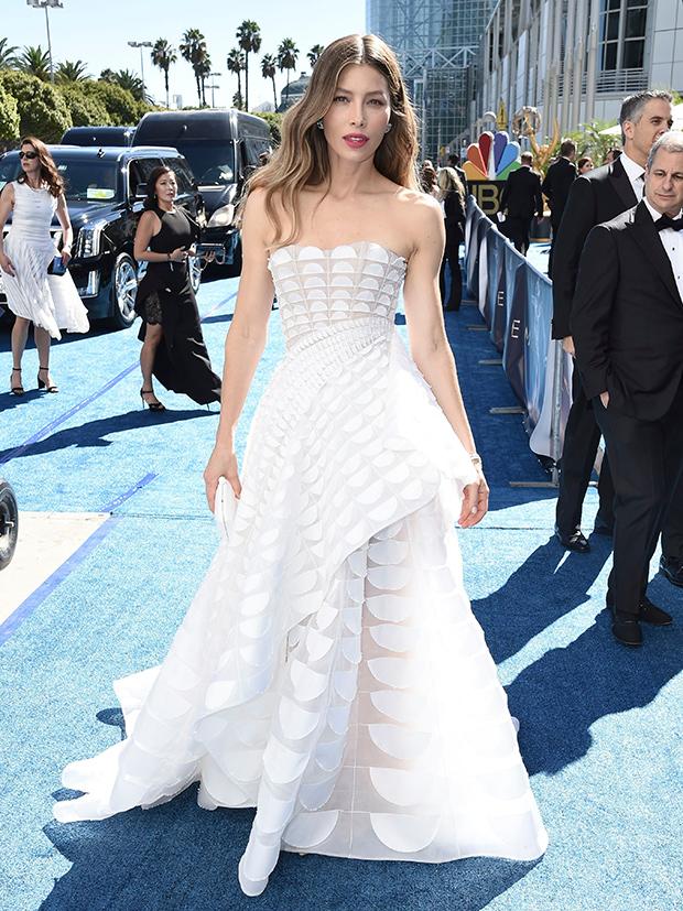 Jessica Biel Dress Emmys